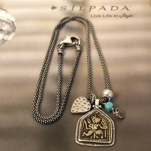 Silpada Jewelry - N1679 Silpada Silver Pendant/Charm Necklace